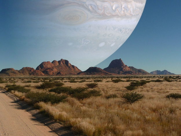 what does jupiter look like from mars - photo #21