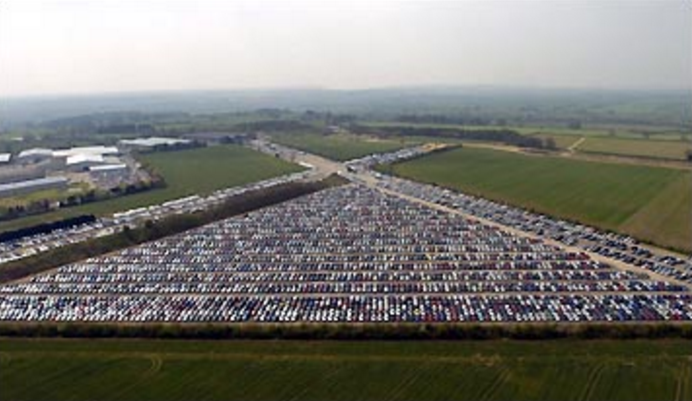 Thousands Of Unsold New Cars Are Being Abandoned And Left To Die In ...