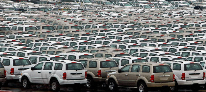 Thousands Of Unsold New Cars Are Being Abandoned And Left